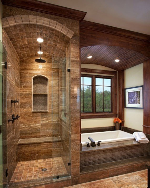 Luxury Walk In Showers best shower design & decor ideas (42 pictures)