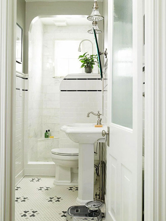 Ideas For Designing And Decorating A Small Bathroom 36