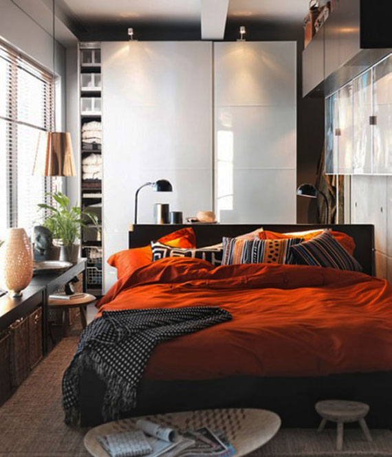 Decorating Small Bedrooms With Style - 34 Examples