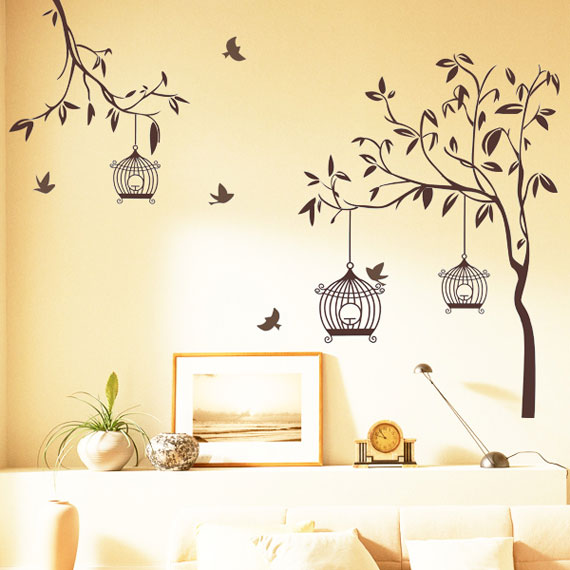 decorative wall stickers for your houses interiors 10 - Wall Designs Stickers