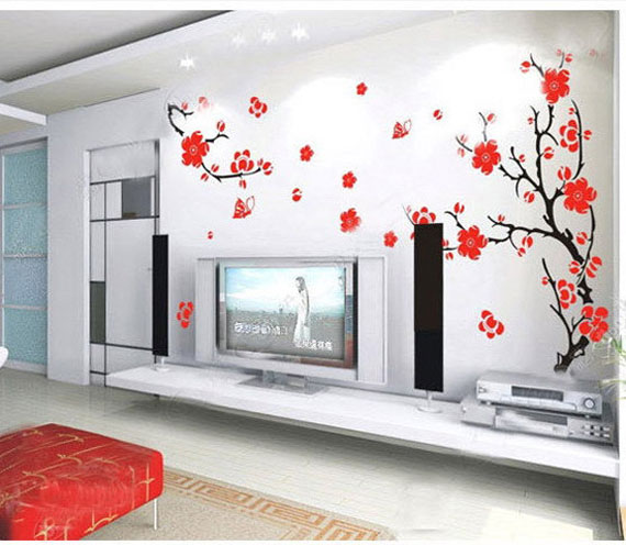 wall sticker designs for living room. s12 Decorative Wall Stickers For Your House s Interiors  43 Pictures