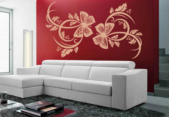 S21 Decorative Wall Decals For Your Houseu0027s Interiors (43 Pictures)