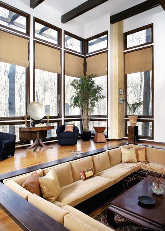 S22 Best Sunken Living Room Designs 41 Conversation Pits