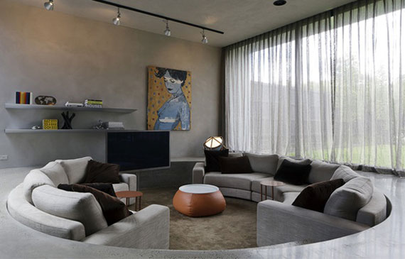 S9 Best Sunken Living Room Designs 41 Conversation Pits