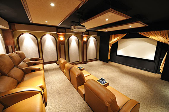 t1 A Showcase Of Really Cool Theater Room Designs