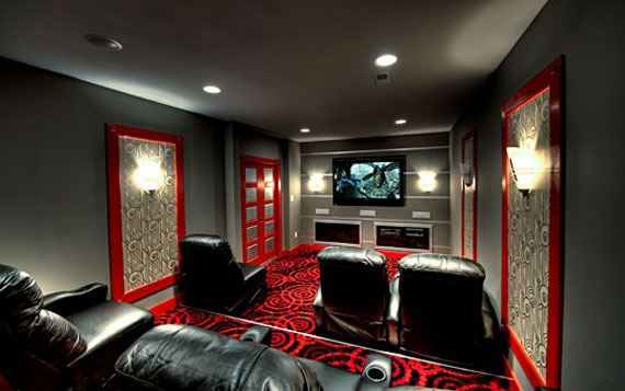 A Showcase Of Really Cool Theater Room Designs on modern home bar design, modern home library design, modern computer room design, custom home theater design, modern home kitchen design, modern home media room, luxury home theater design, home theater systems design, modern tv room design, modern luxury homes design, home movie theater design, modern home gym design, modern home office design, modern house interior design living room, modern kitchen room design, modern living room decor, modern bar room design, modern living room interior design ideas, modern living room ceiling design, modern entertainment room design,