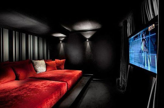 T4 A Showcase Of Really Cool Theater Room Designs