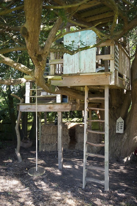 Cool Treehouse Design Ideas To Build 44 Pictures