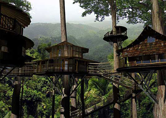 Cool Treehouse Design Ideas To Build (44 Pictures)
