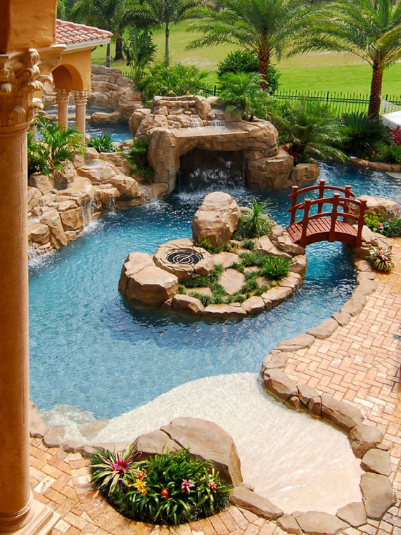 w1 backyard ponds and water garden ideas 31 examples - Garden Examples Photos