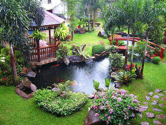 w6 Backyard Ponds And Water Garden Ideas - 31 Examples