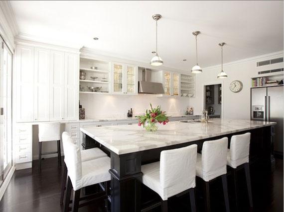 white kitchen design ideas to inspire you   examples,Amazing White Kitchens,Kitchen cabinets
