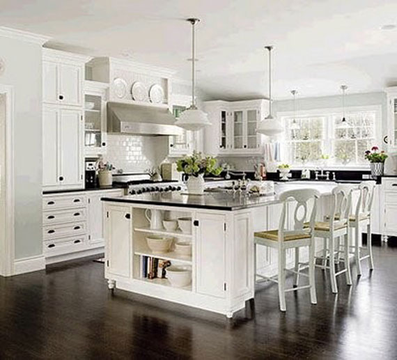 Charmant Kit32 White Kitchen Design Ideas To Inspire You   48 Examples