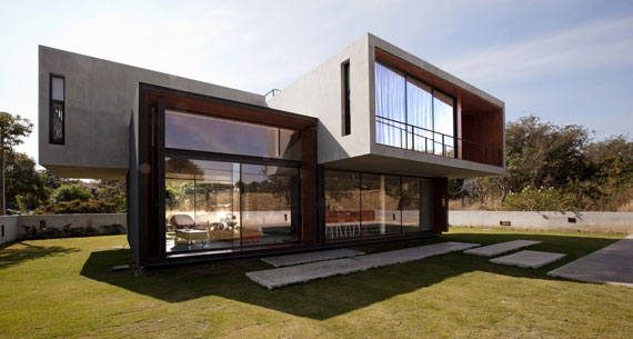 Contemporary Sleek W House Designed By IDIN Architects