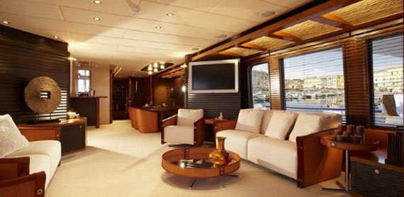 Glamorous Yachts Interior Design Examples That Will Amaze You 10