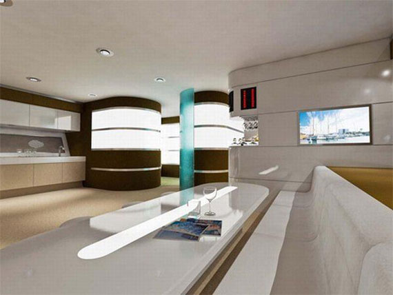 Glamorous Yachts Interior Design Examples That Will Amaze You 12