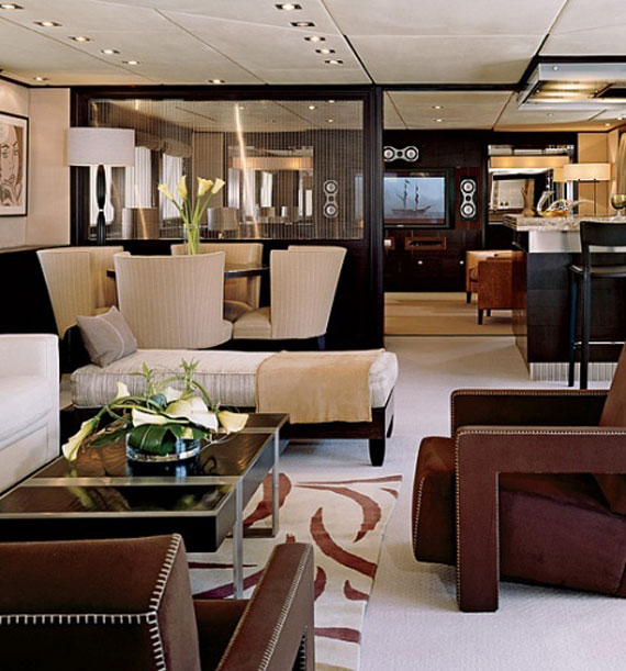 Glamorous Yachts Interior Design Examples That Will Amaze You 13