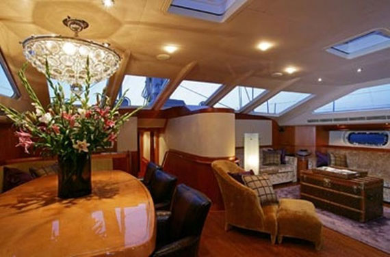 Glamorous Yachts Interior Design Examples That Will Amaze You 18