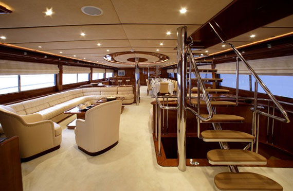 Y2 Glamorous Yacht Interior Design Examples That Will Amaze You