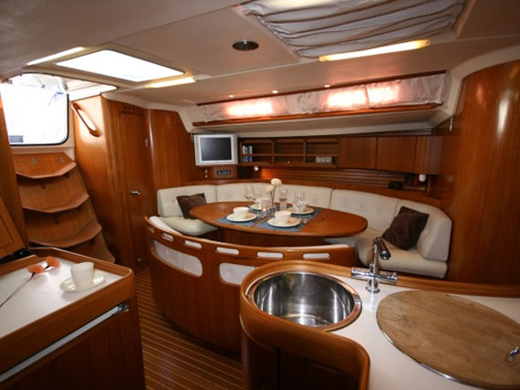Luxury Yacht Interior Design Of With Boat Pictures