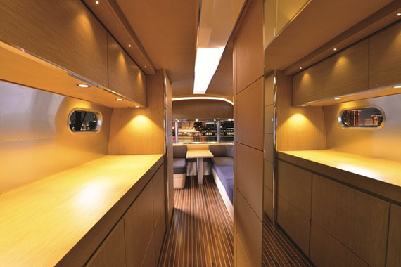 Glamorous Yachts Interior Design Examples That Will Amaze You 23