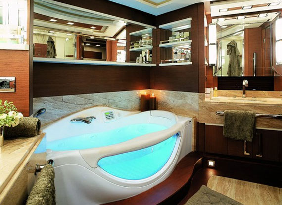 Glamorous Yachts Interior Design Examples That Will Amaze You 25