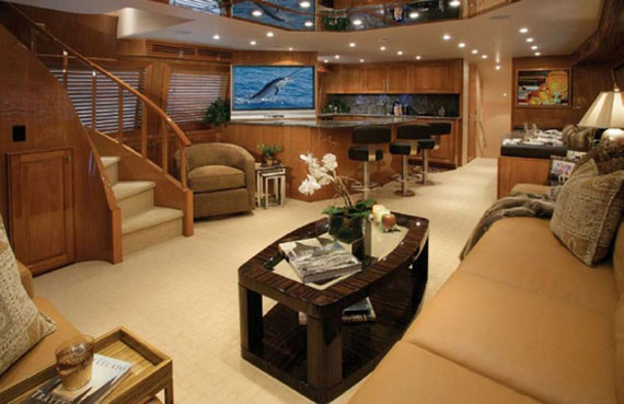 Glamorous Yachts Interior Design Examples That Will Amaze You 26