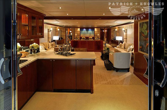 Glamorous Yachts Interior Design Examples That Will Amaze You 27