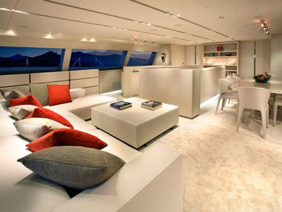 Glamorous Yachts Interior Design Examples That Will Amaze You 31