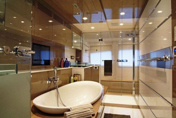 Glamorous Yachts Interior Design Examples That Will Amaze You 33
