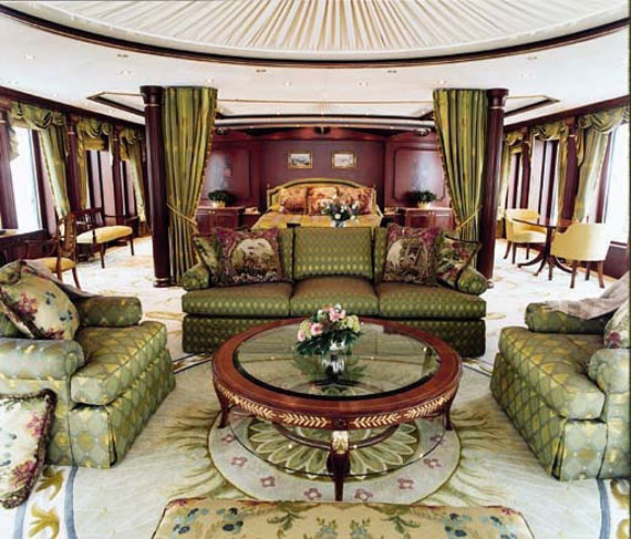 Glamorous Yachts Interior Design Examples That Will Amaze You 34