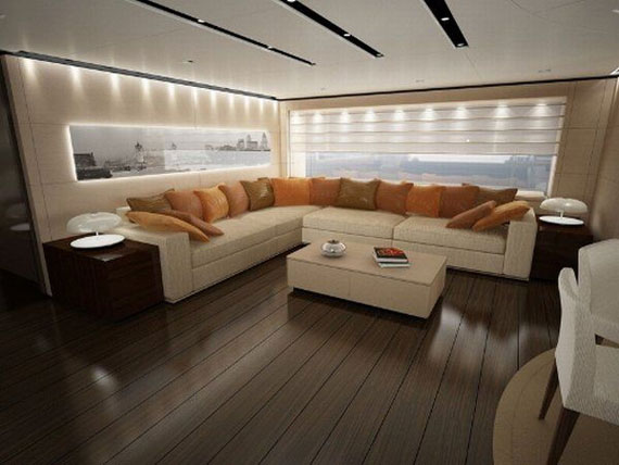 Glamorous Yachts Interior Design Examples That Will Amaze You 39