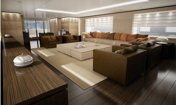 Glamorous Yachts Interior Design Examples That Will Amaze You 40