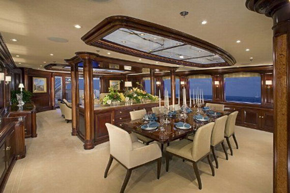 Glamorous Yachts Interior Design Examples That Will Amaze You 5