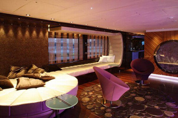 Glamorous Yachts Interior Design Examples That Will Amaze You 7