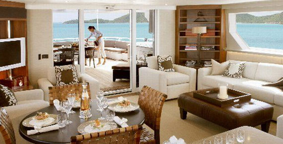 Glamorous Yachts Interior Design Examples That Will Amaze You 9