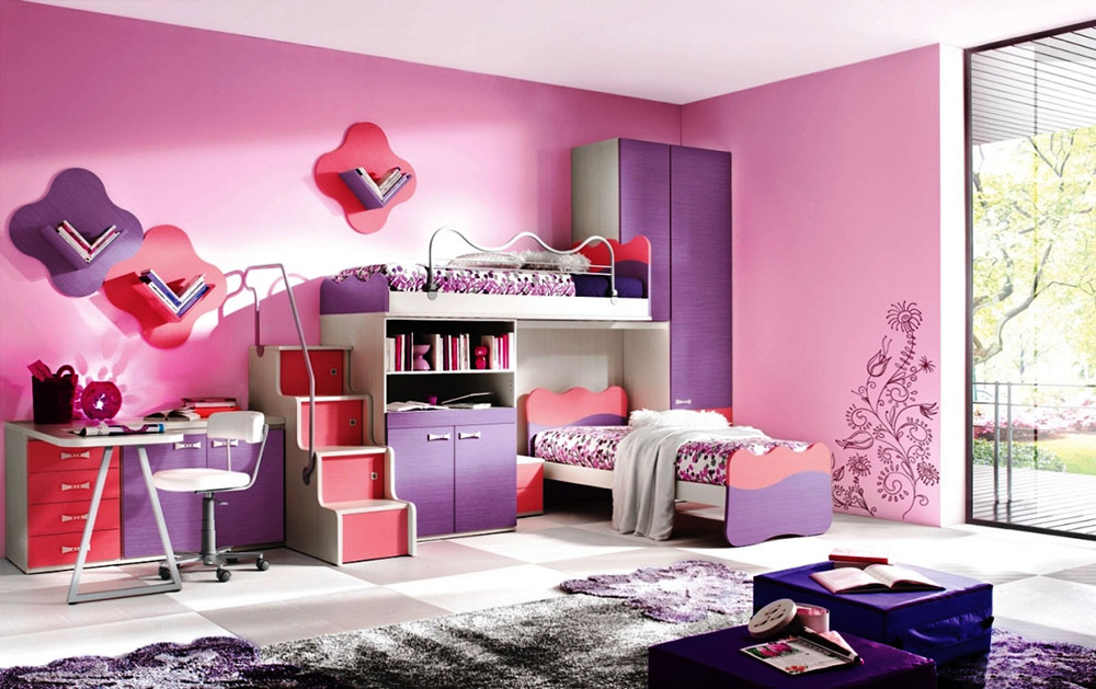 colorful girls rooms decorating ideas 4 colorful girls rooms design - Decorating Ideas For Teenage Bedrooms