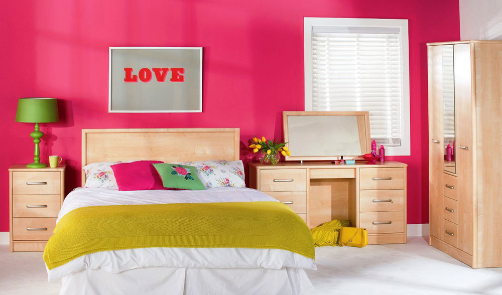 Bedroom Wall Color Design Ideas colorful girls rooms design & decorating ideas (44 pictures)