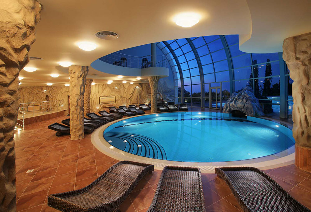 indoor swimming pool design ideas for your home - Cool House Pools