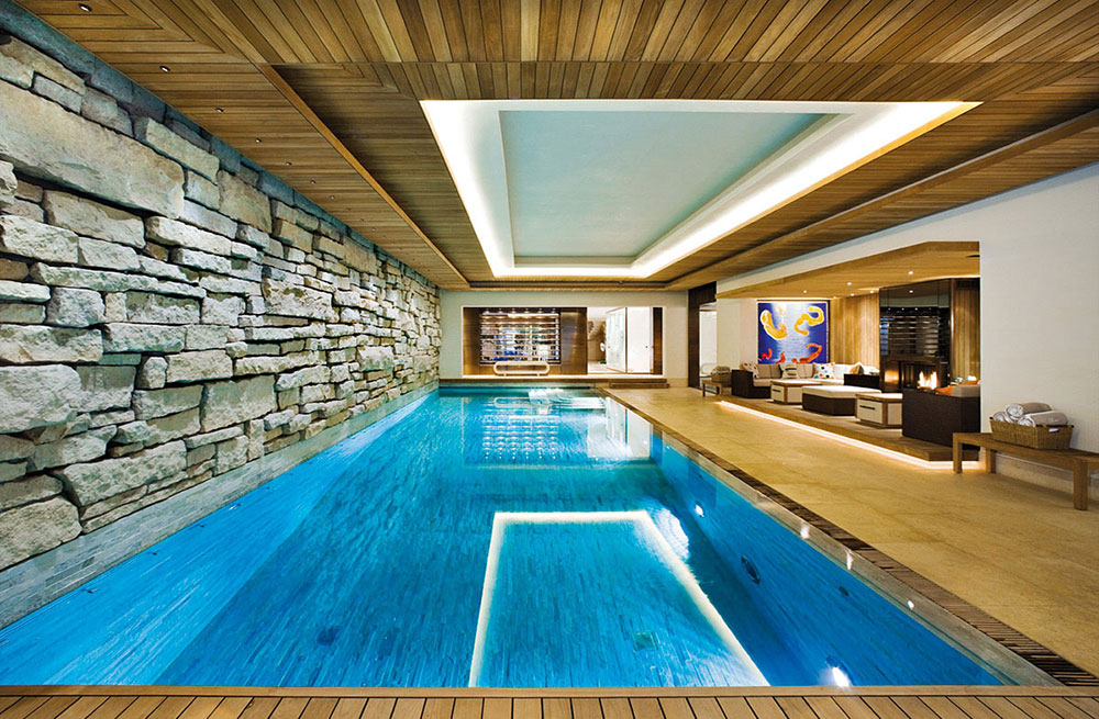 indoor swimming pool design ideas for your home - Design A Swimming Pool