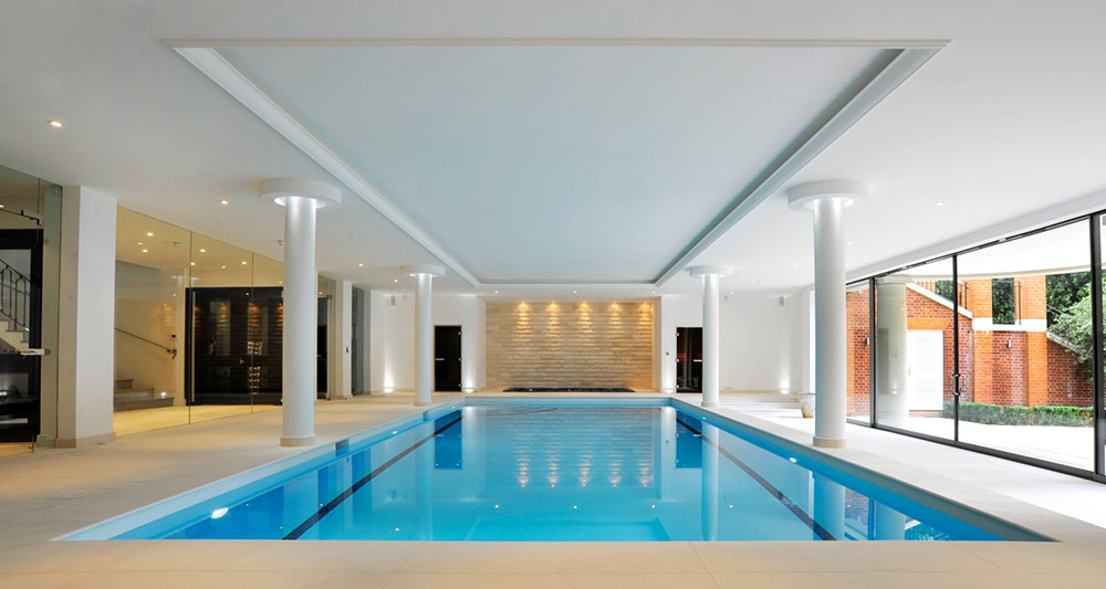 indoor swimming pool design ideas for your home - House Swimming Pool Design