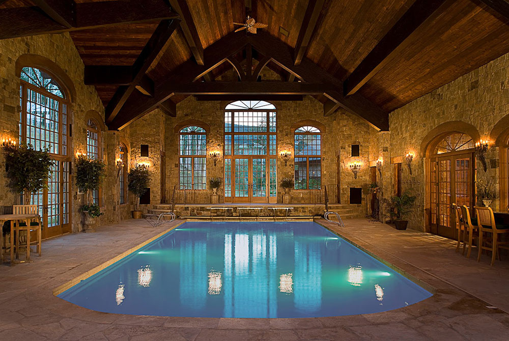 indoor swimming pool design ideas for your home - Cool House Indoor Pools