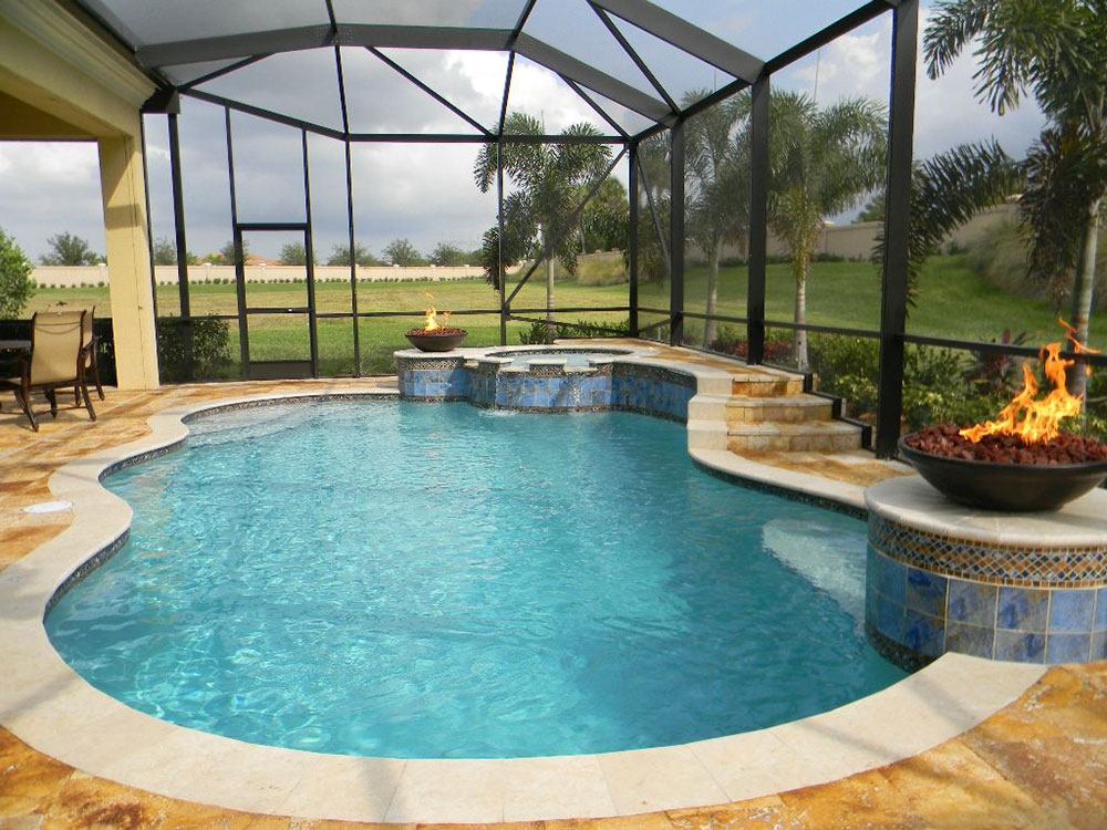 Beautiful Enclosed Pool Designs Contemporary - Interior Design ...
