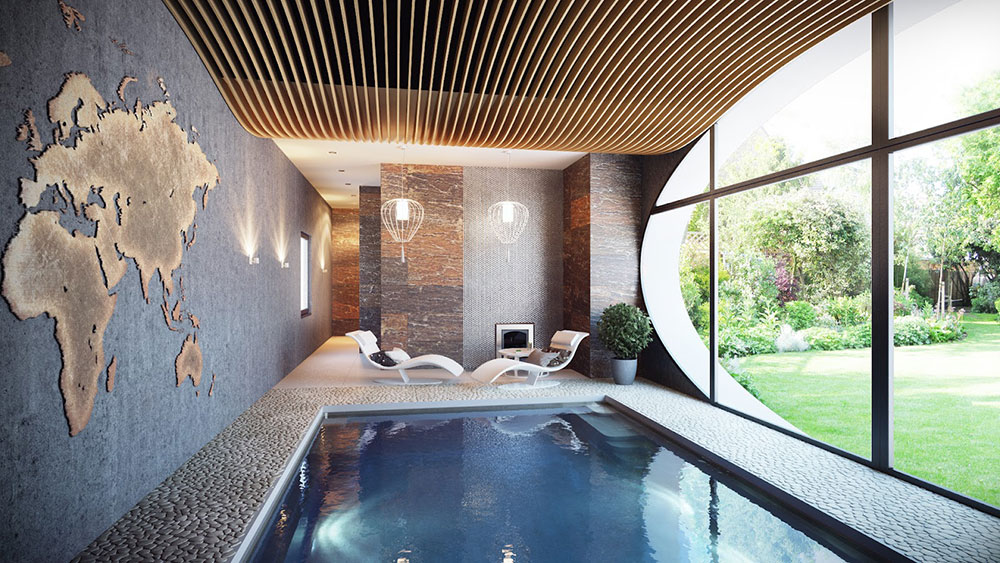 Indoor Swimming Pool Design Ideas For Your Home  Part 27