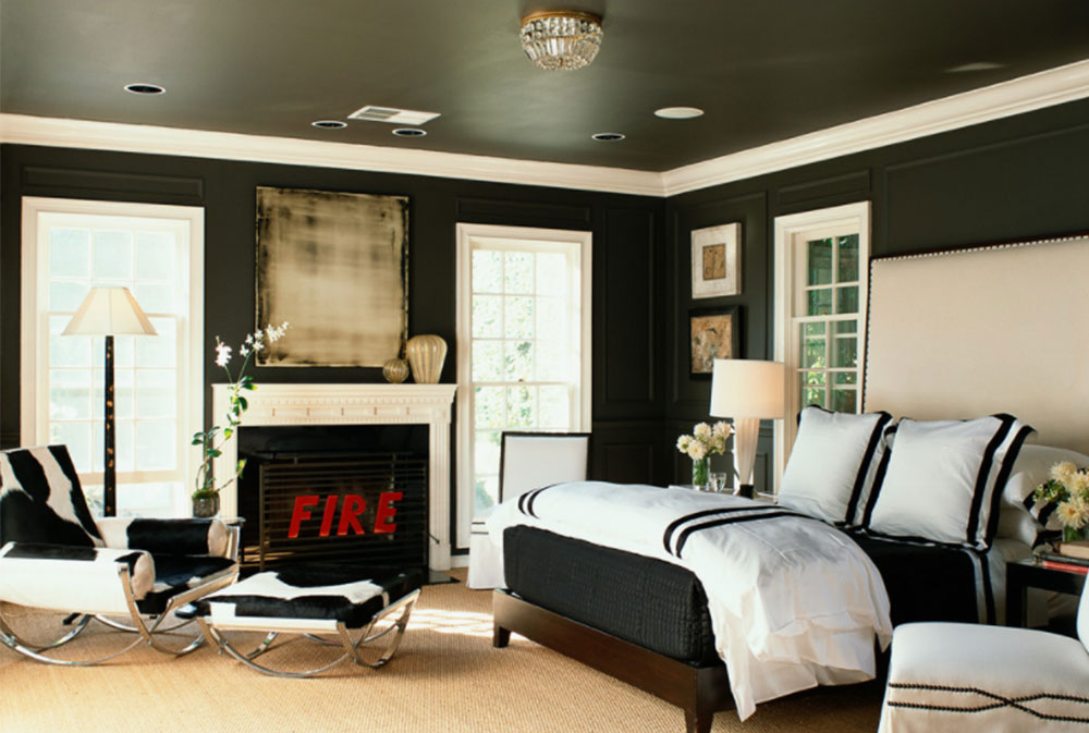Black Walls Ideas For Your Modern Interiors 47 Pictures