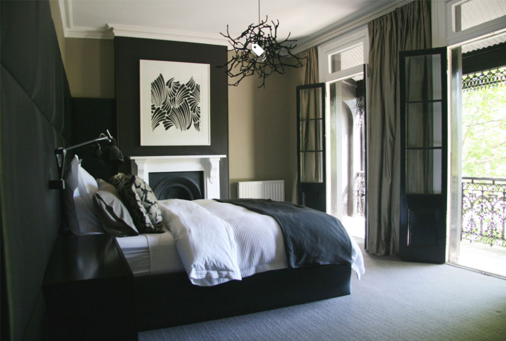 Black Wall Paint black walls ideas for your modern interiors (47 pictures)