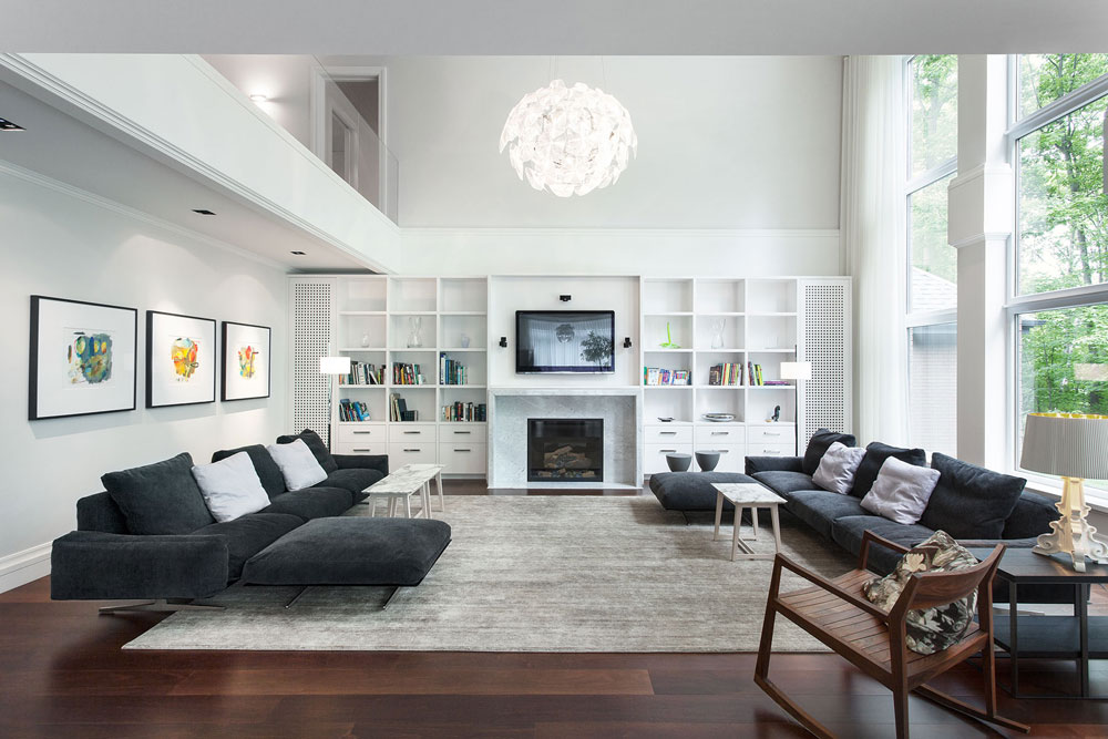 Modern White Living Room Furniture. Photos Of Modern Living Room