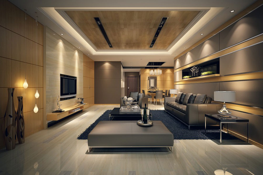 modern contemporary living room decorating ideas - Living Room Interior