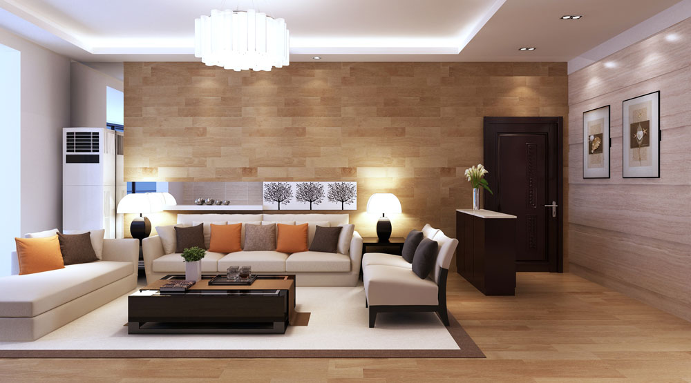 Modern Living Room Furniture Apartment. Photos Of Modern Living Room