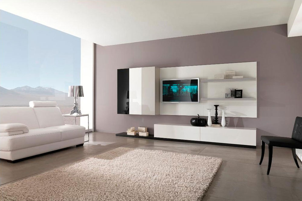 modern house living room - home design minimalist